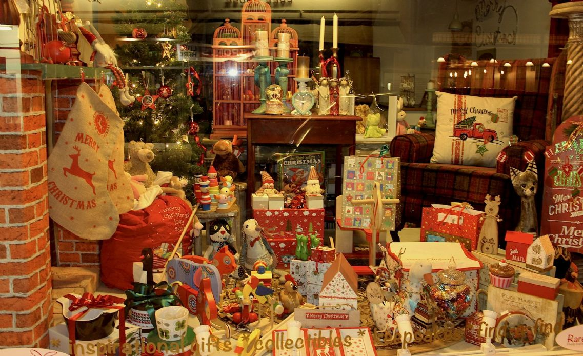 Nights before Christmas WINNER 2017 Christmas Window Display Competition